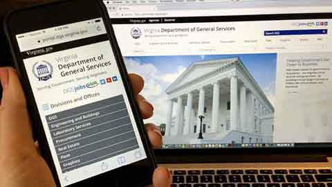 Virginia Department of General Services Partners with Ameex Technologies to Deliver an Award-Winning New Web Site