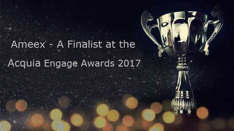 Ameex Technologies Named a Finalist in 2017 Acquia Engage Awards