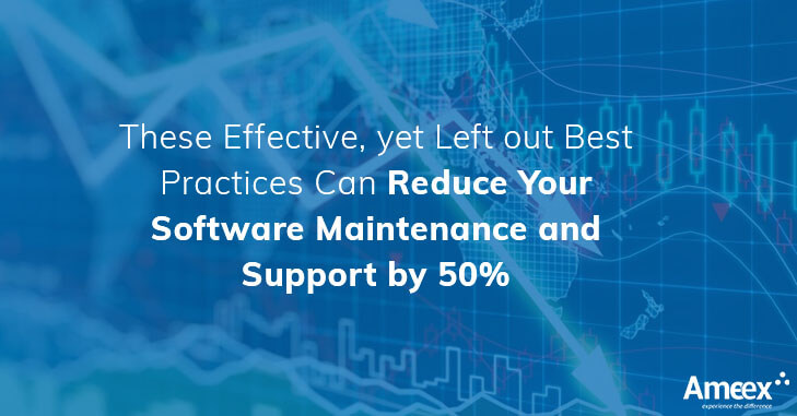 Maintenance and support costs make up a large part of the IT budget in most organizations, taking away from innovation and using it mostly for simple upkeep