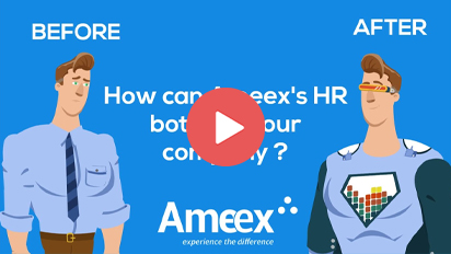 Boost productivity with Ameex's HR Bot