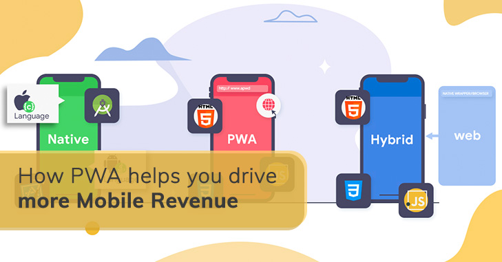 How PWA helps you drive more Mobile Revenue