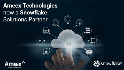 Ameex Technologies Partners with Snowflake