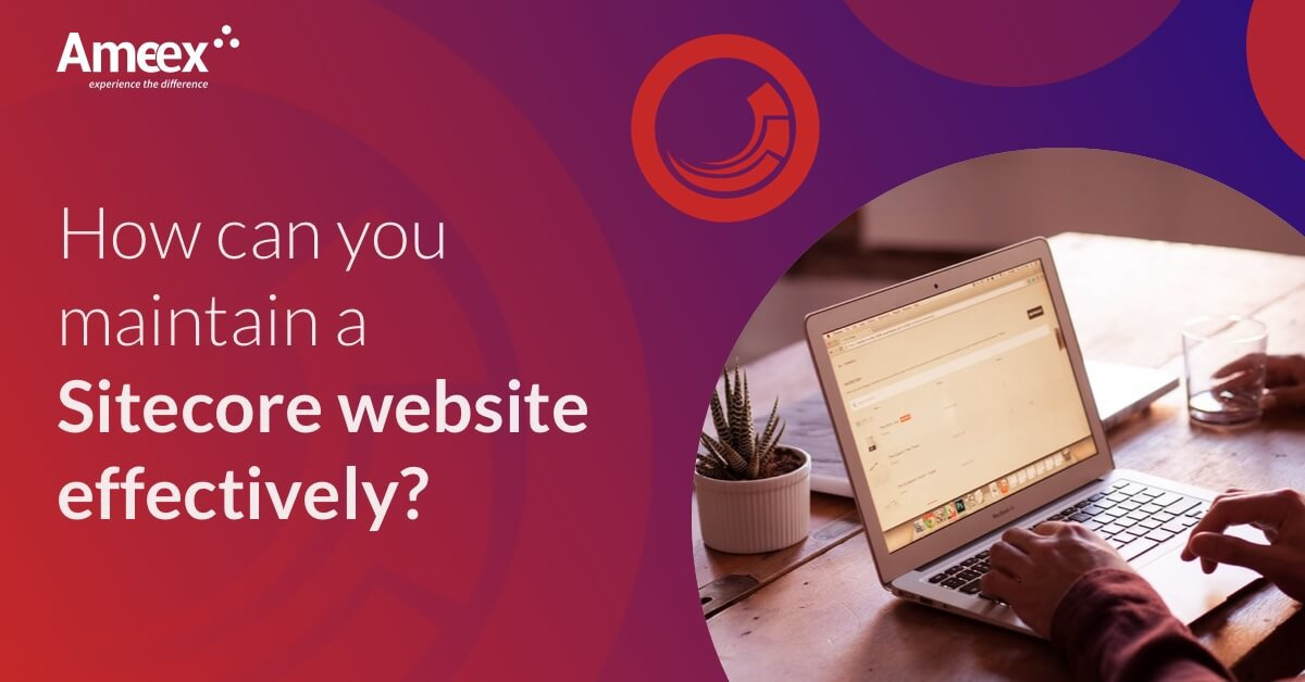 How can you maintain a Sitecore website effectively?