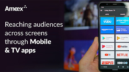 Reaching audiences across screens through Mobile & TV apps